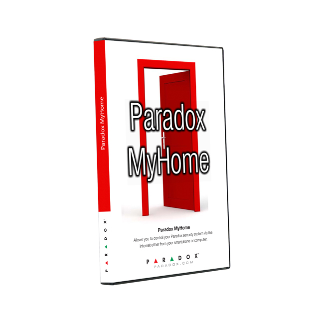 paradox myhome kontrola alarma preko PCa